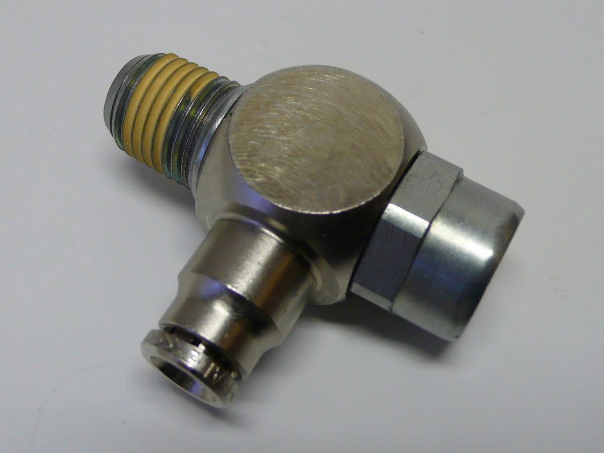 121563 SPS - AIR VALVE BLOCKING (1/4TUBE-1/4NPT)