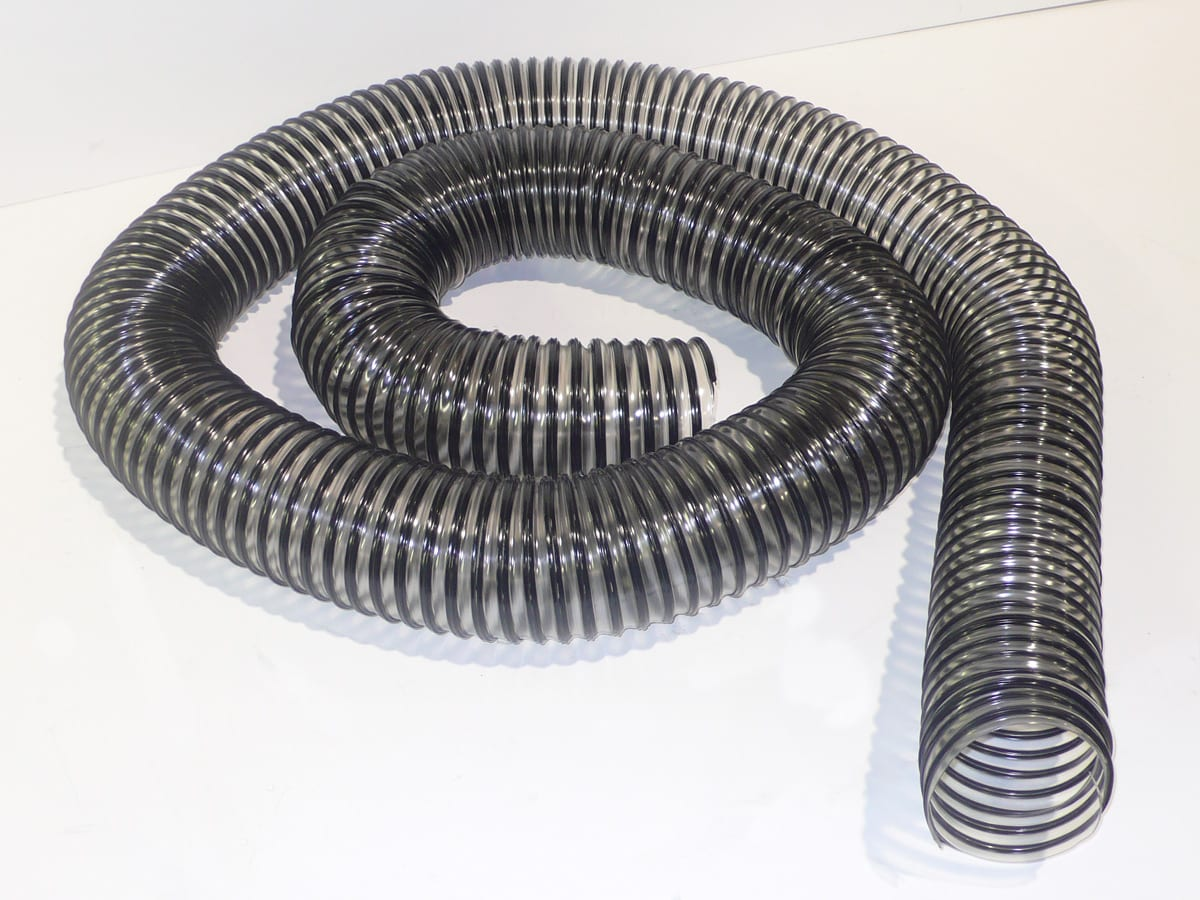 """27050 SPS - HOSE 8"""" X 15 FT CLEAR"""